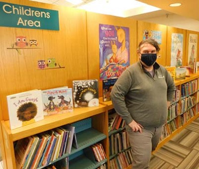 Nate Deprey, director of the Stewartville Public Library, says when he thinks about expanding the library, the children�s area is a possibility. �We are short on shelf space for children and adult fiction,� he said. �Twenty-five percent of our circulation comes from the children�s area.�